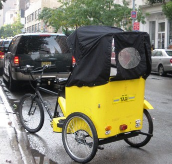 Pedicab on West 29th St.