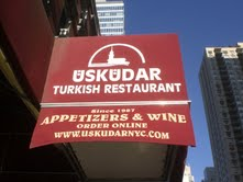 Huseyin's favorite Turkish restaurant in Manhattan. Photo by Lilian Moreira