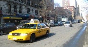 taxi on bway morningside heights